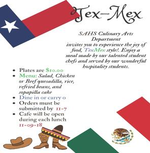 Tex mex newsletter