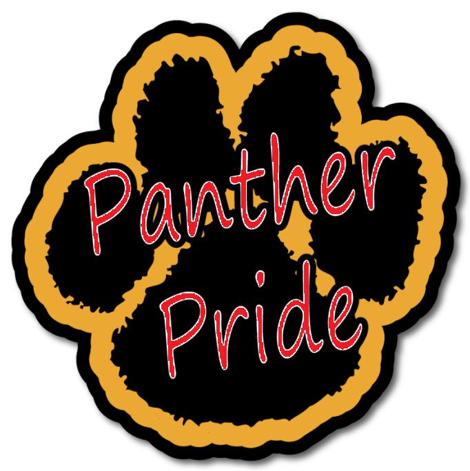 Panther Pride Paw Print