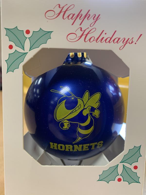 Hornets X-mas ornament