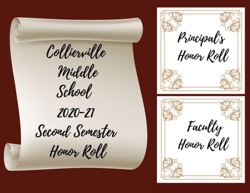 Collierville Middle School and CVA 2nd Semester Honor Roll Featured Photo
