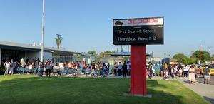 On campuses across BPUSD, students, teachers and staff reunited for the first day of the 2021-22 school year.