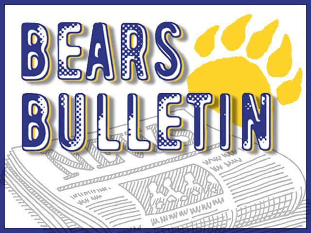 Bears Bulletin Featured Photo