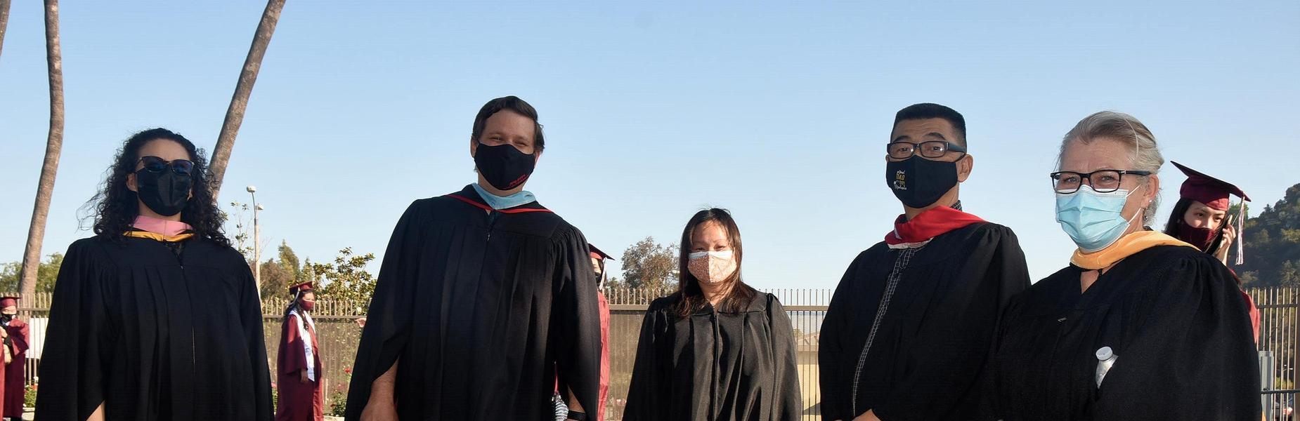 MKHS Staff at the 2021 Graduation Ceremony