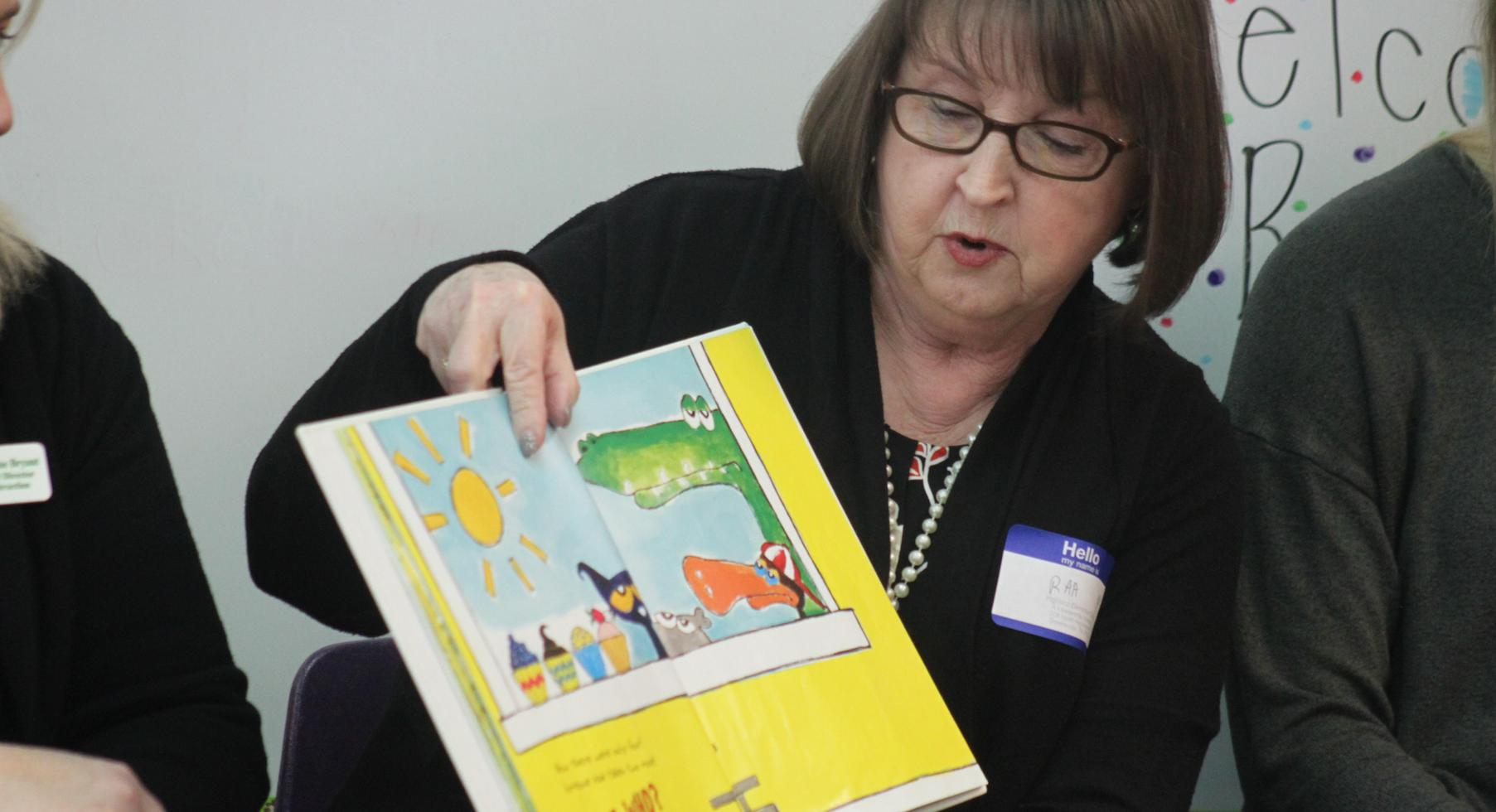 Read Across America School Board Member Reading