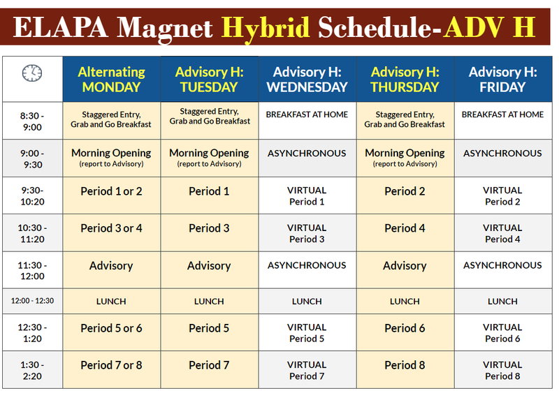 ELAPA Magnet Hybrid Schedule-ADV H Featured Photo
