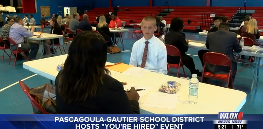Students in Pascagoula-Gautier school district prepare for future through 'You're Hired' event