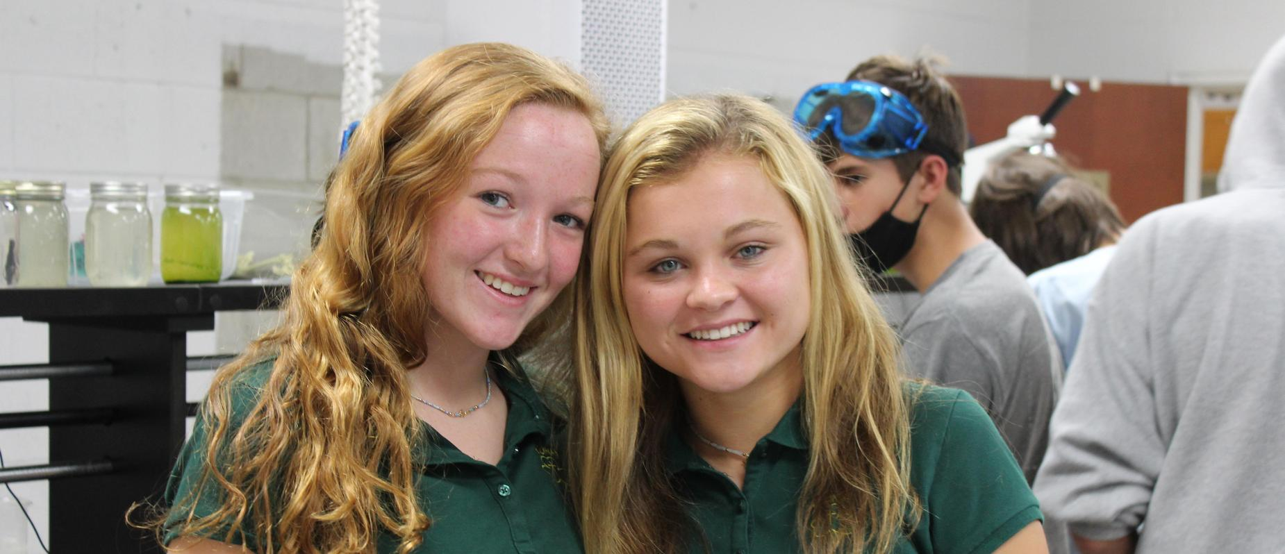 Hannah and Caroline