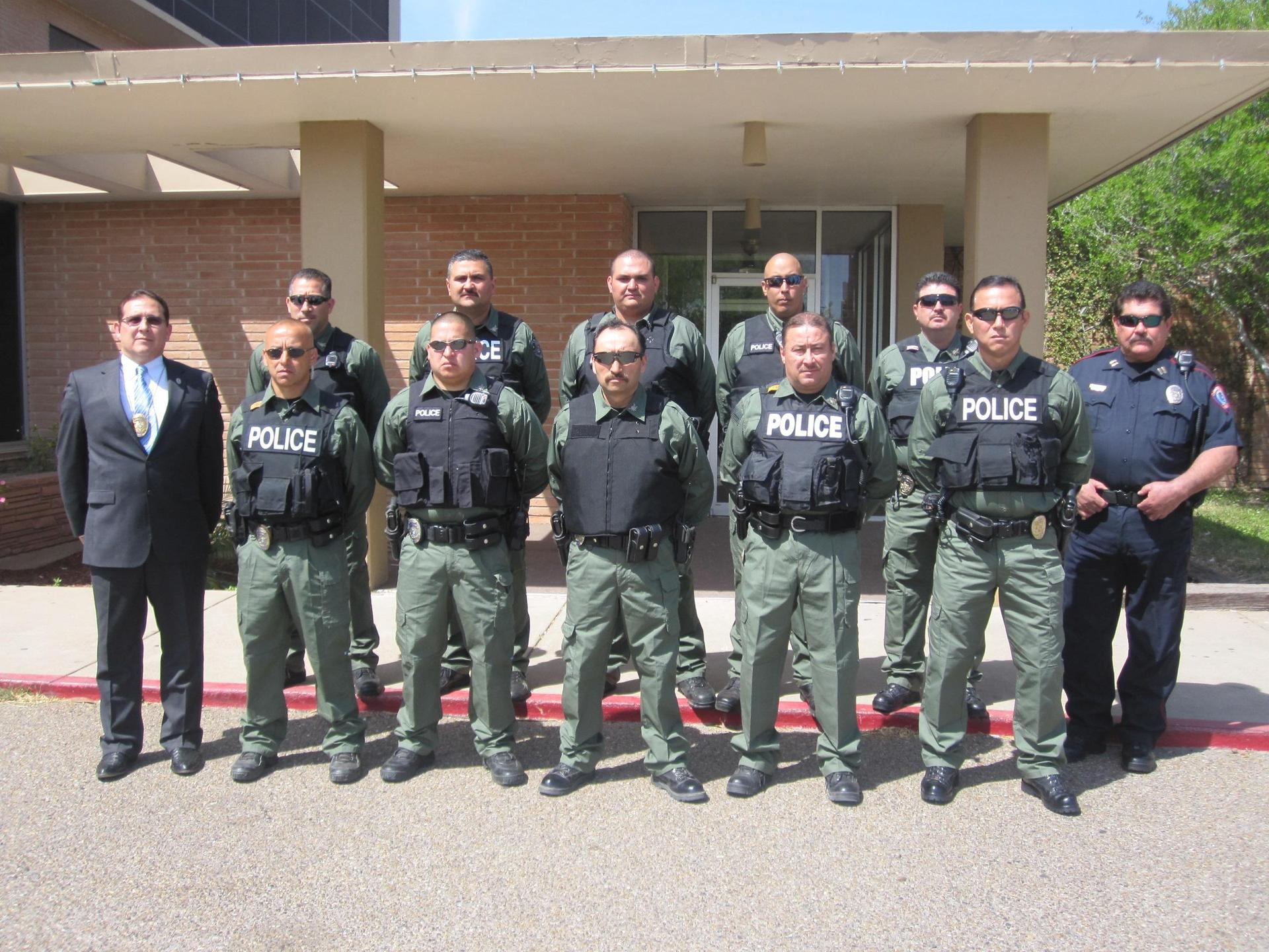 Special Weapons and Tactics Special Response Team group picture