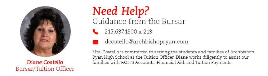 2019-2020 Tuition and Fees - Archbishop Ryan High School