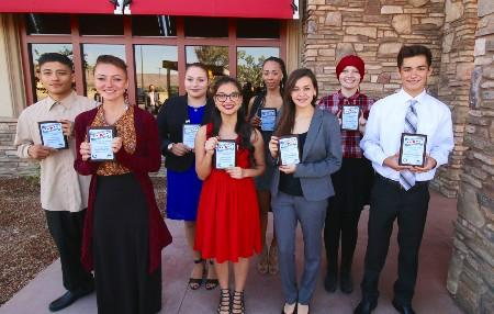 Hemet and San Jacinto's Novemeber Students of the Month