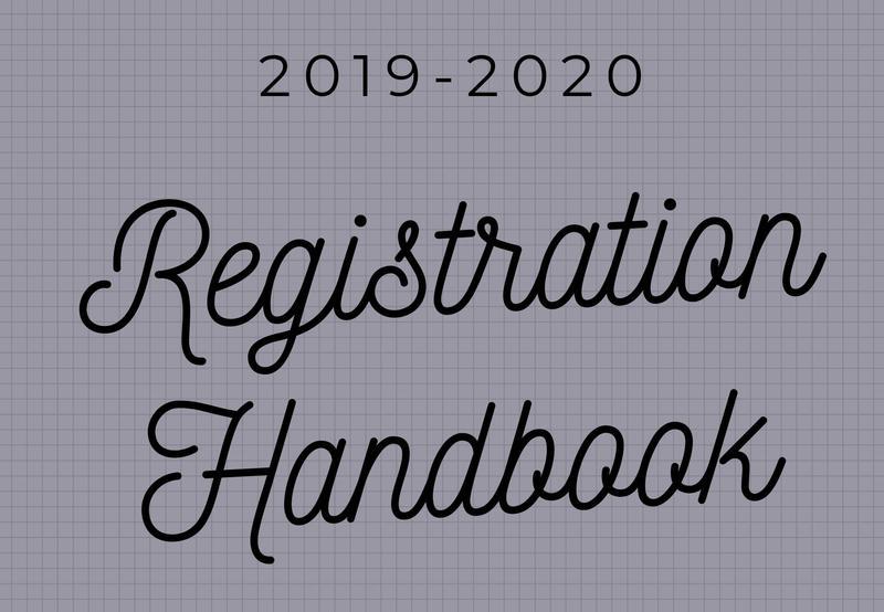 2019-2020 Registration Handbook Thumbnail Image