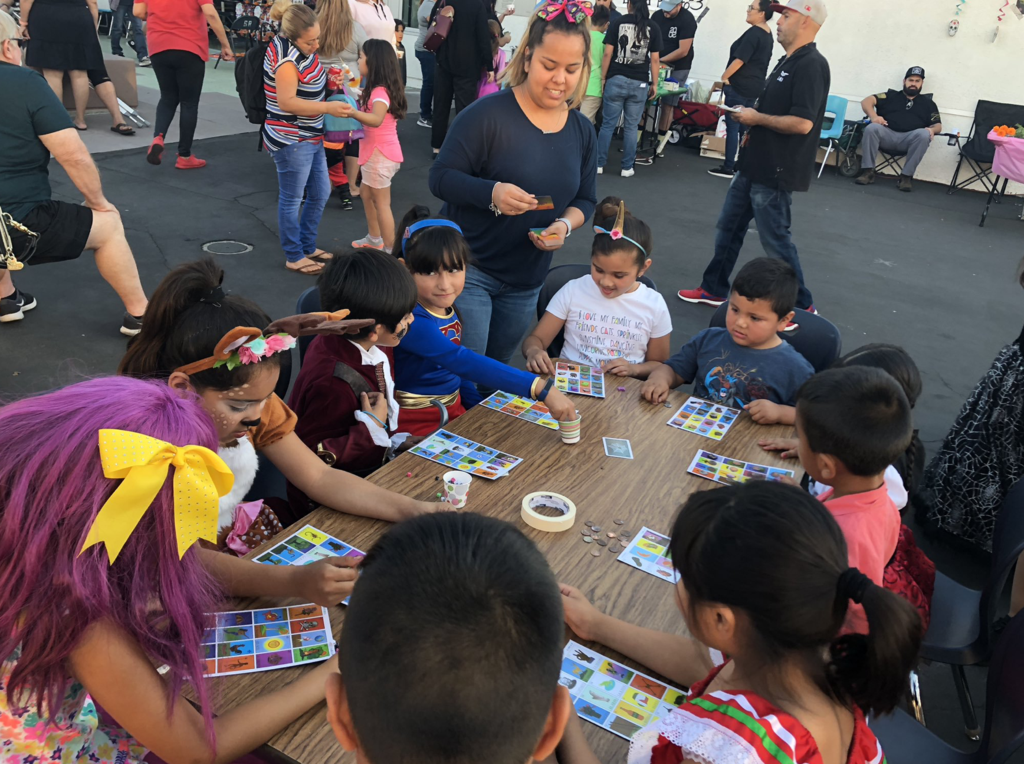 Loteria was a great hit at our annual Harvest Festival!
