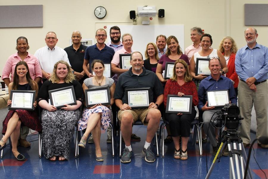 2018 Exceptional Teacher Awards Recipients