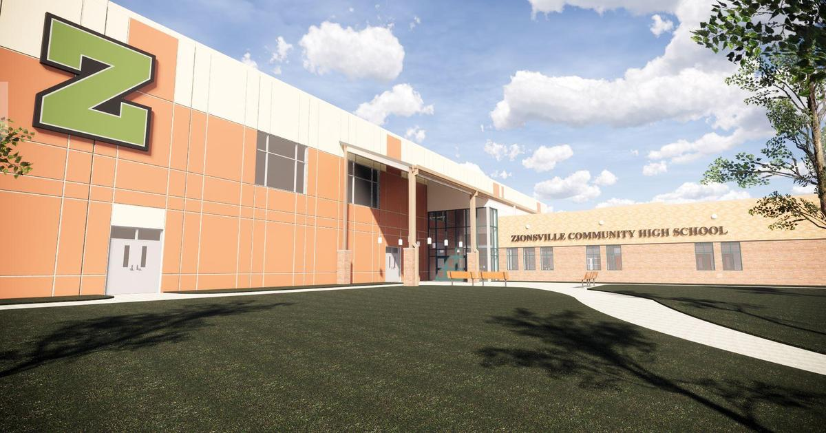 ZCHS New Entrance