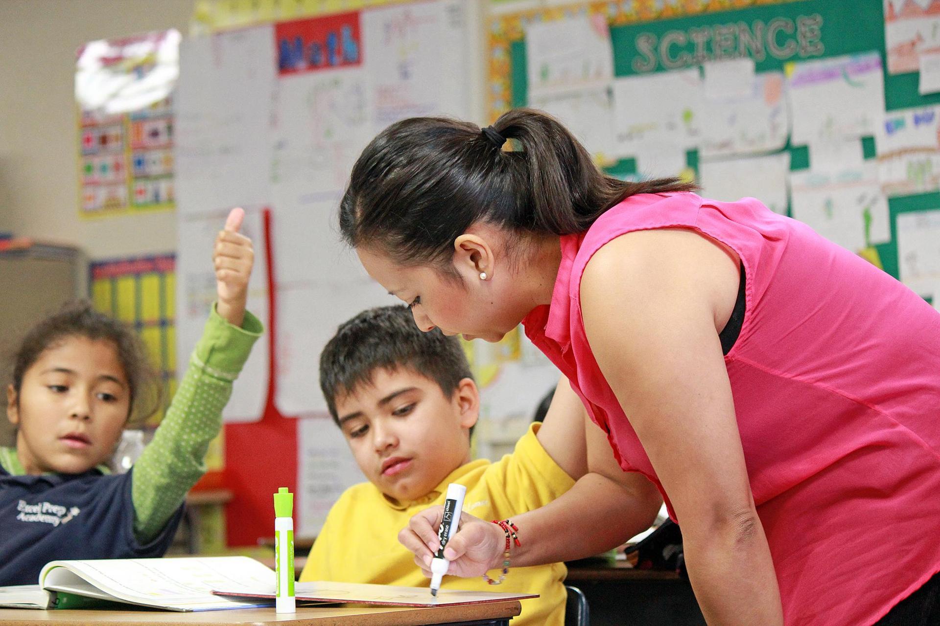 REAL Journey teacher in elementary classroom