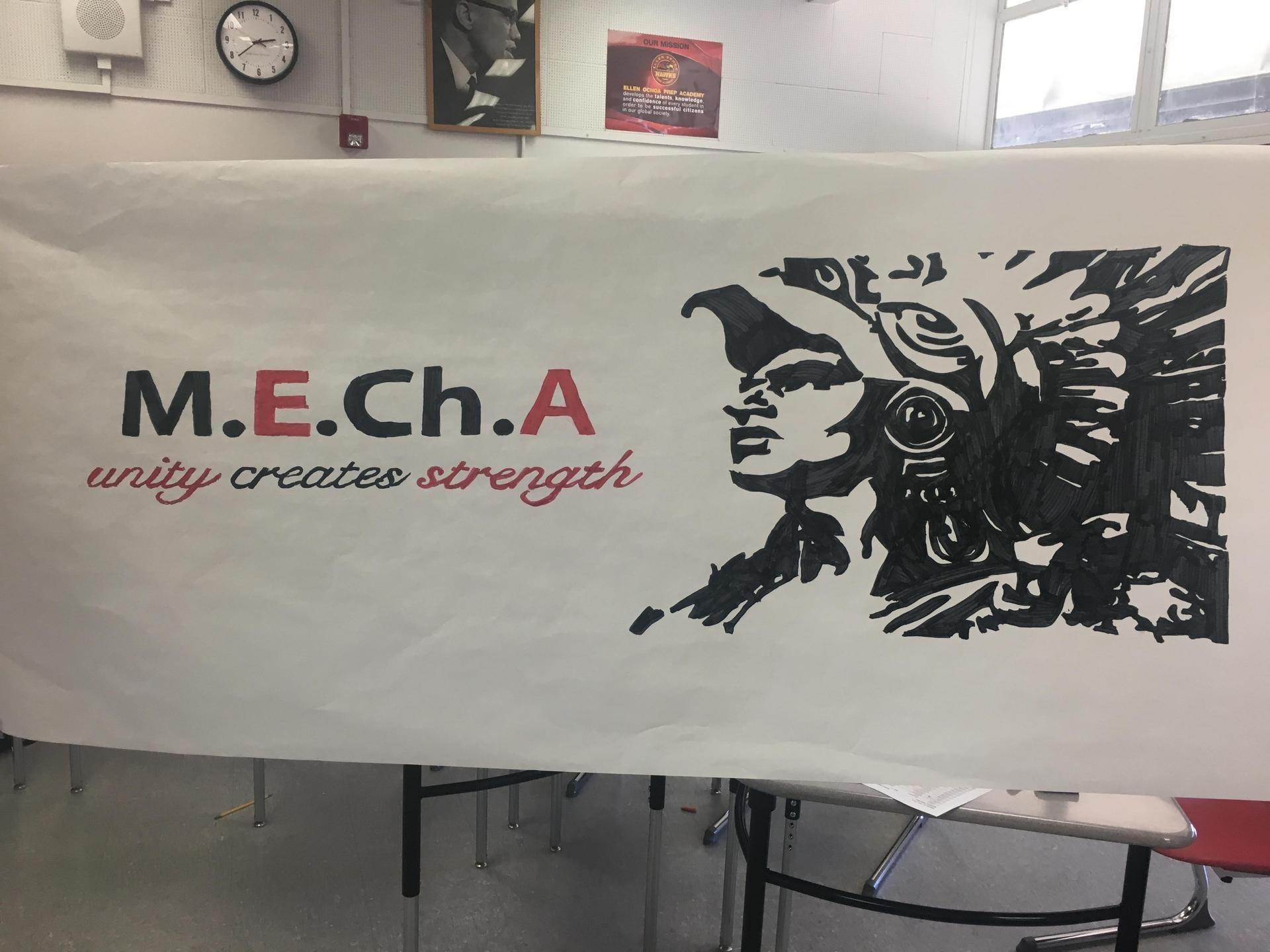 MEChA is a student club where students learn about their culture.