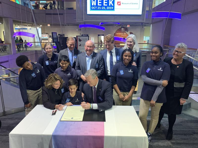 PHA Students Kick Off Mass STEM Week at Museum of Science Featured Photo
