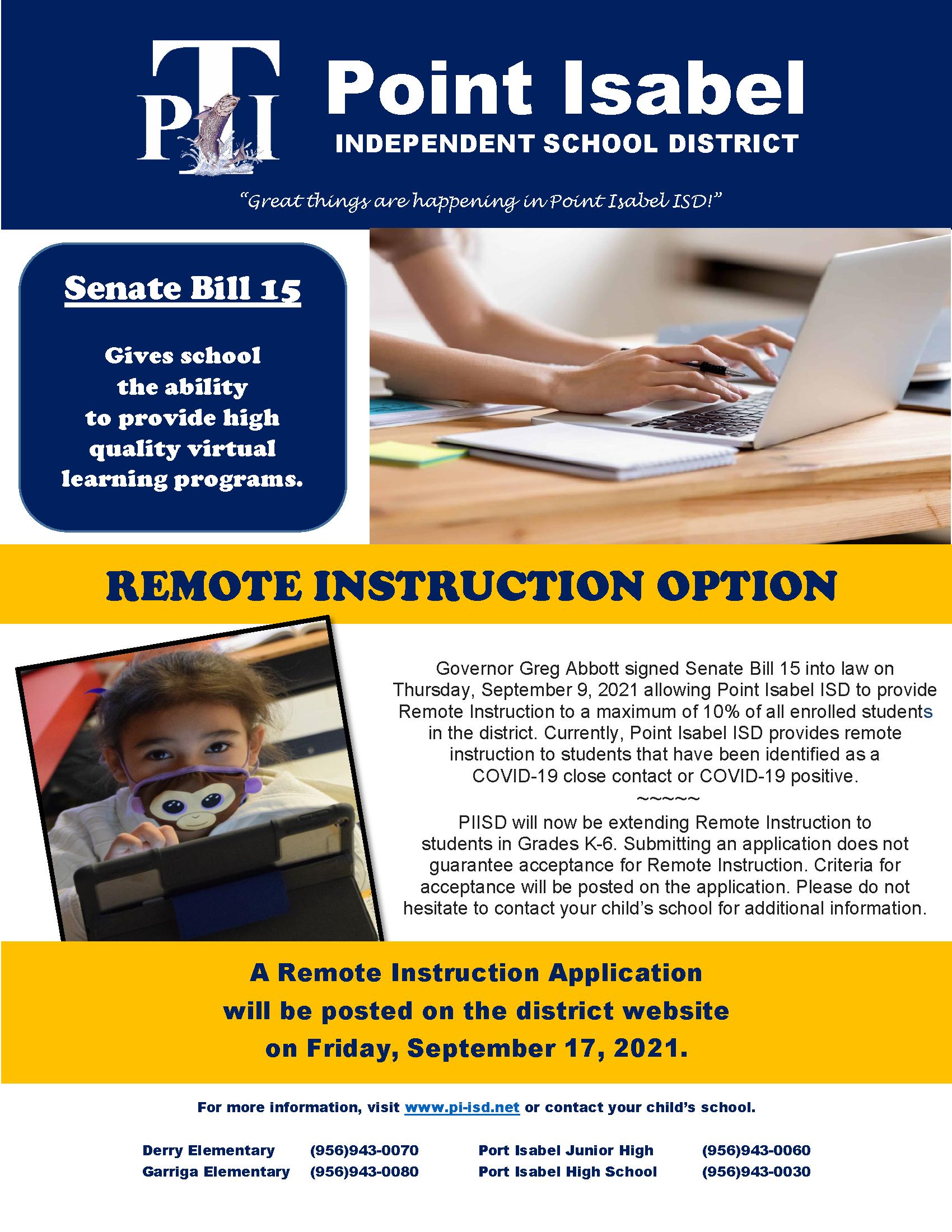 Senate Bill Information