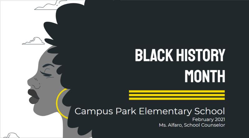 Black History Month Information