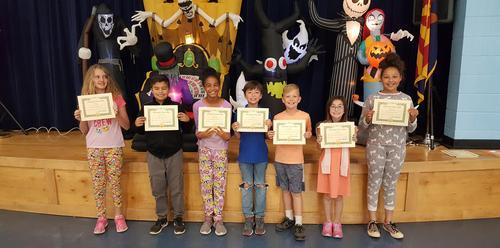 4th Grade Character Awards