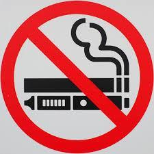 No Smoking No Vaping clip art