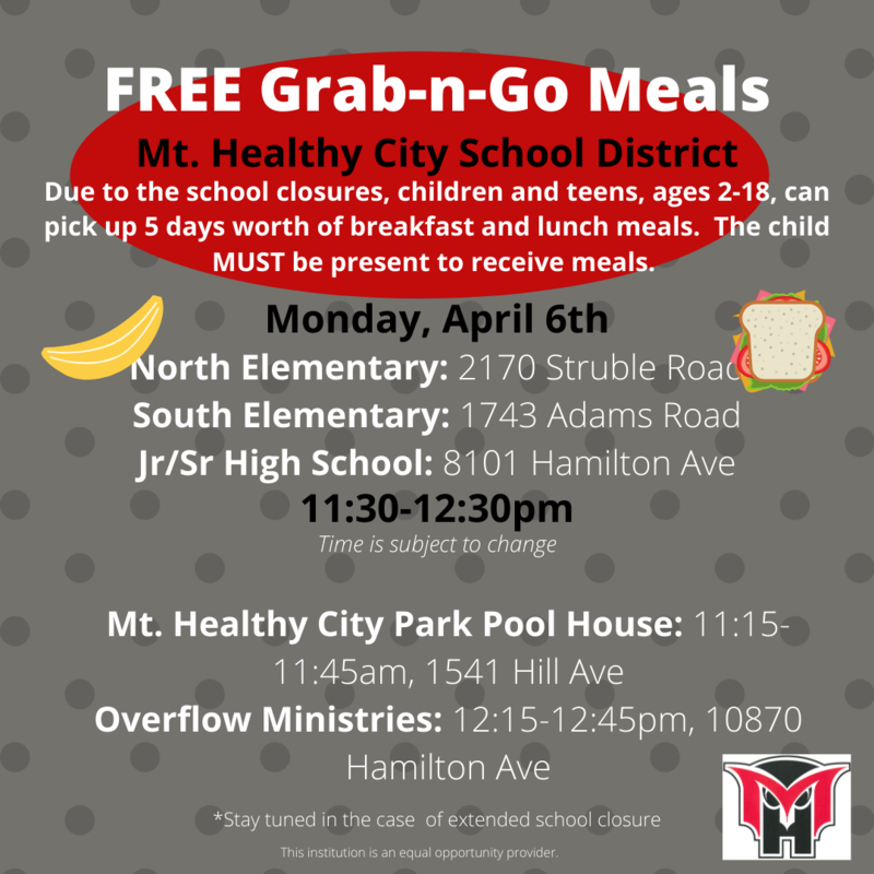 meals for students flyer