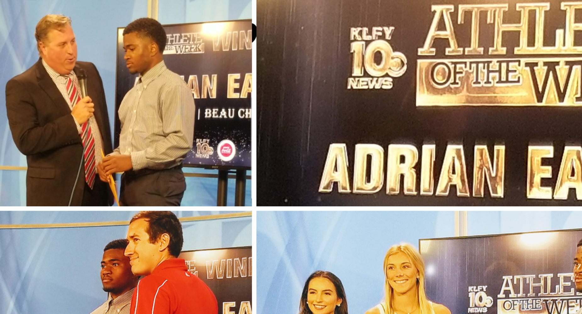 Adrian Eaglin, Best Athlete of the Week