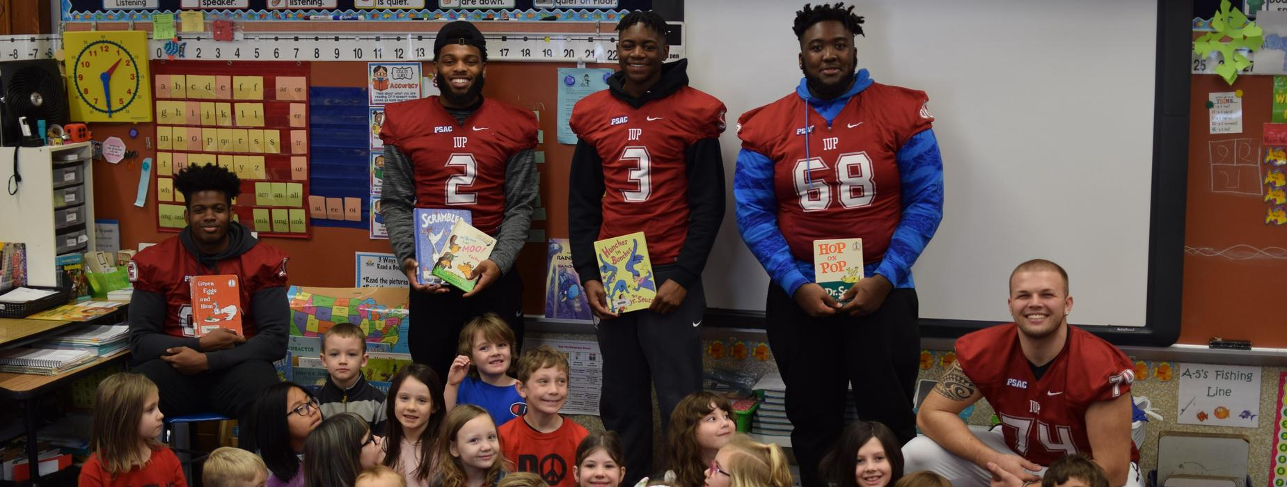 IUP Football Player Readers