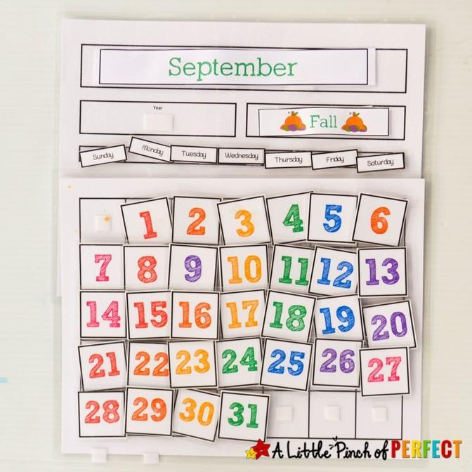 A Day / B Day Calendar Featured Photo