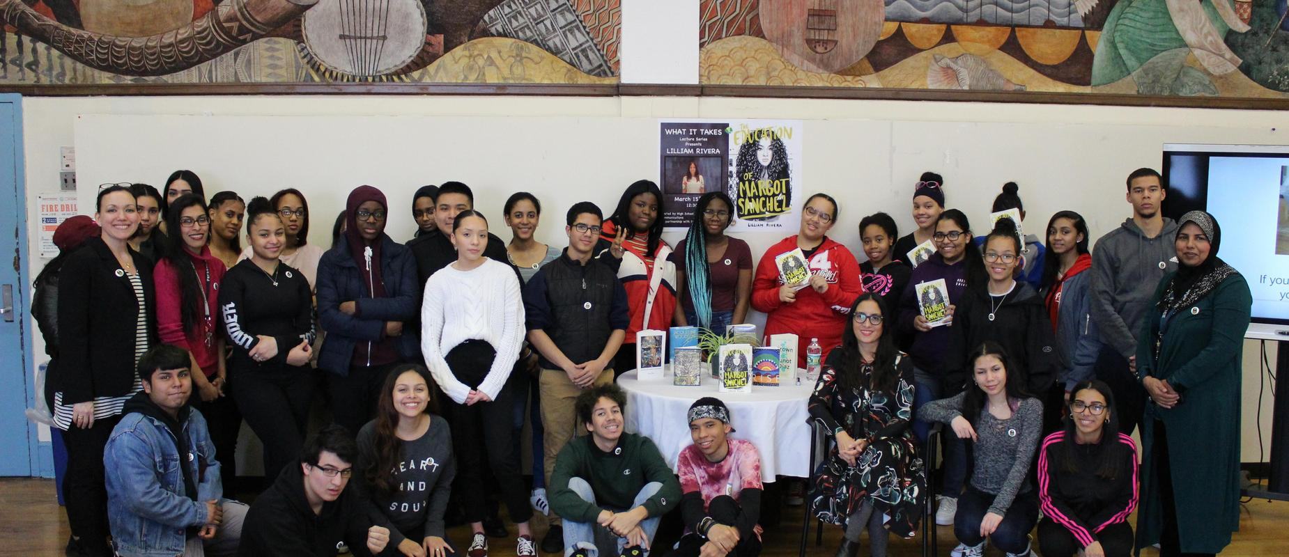 What it Takes Lecture and book signing with author Lilliam Rivera.