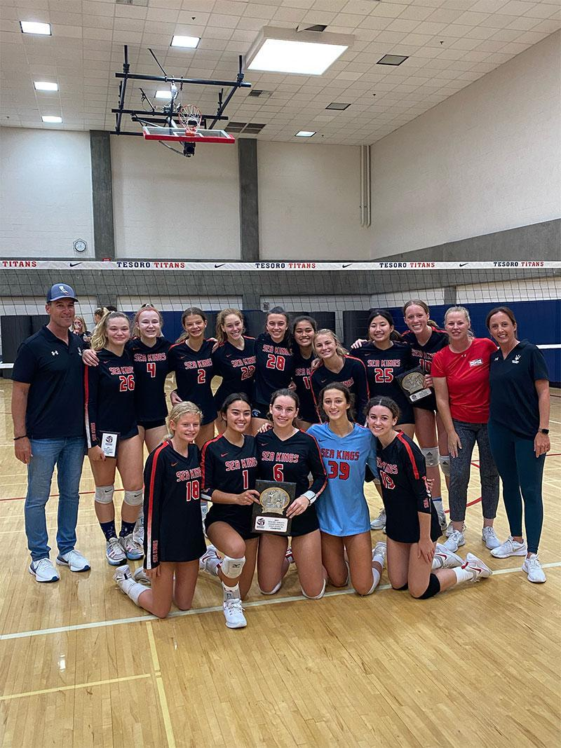 PV Girls' Volleyball takes 1st place in Gold division of the Orange County Tesoro Varsity Championship Tournament! Thumbnail Image