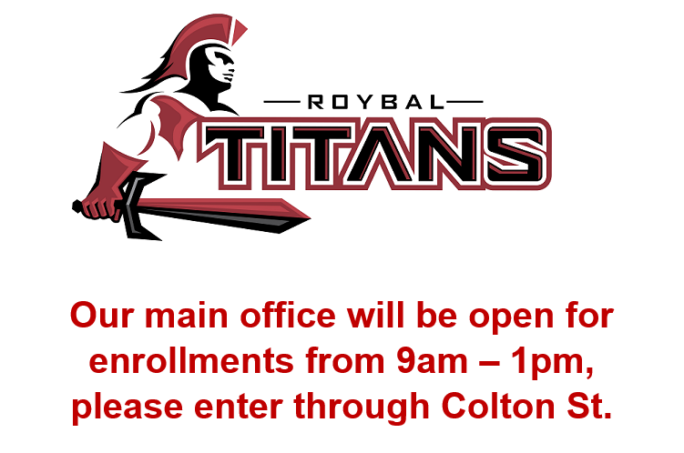 Main Office is open for enrollments Thumbnail Image