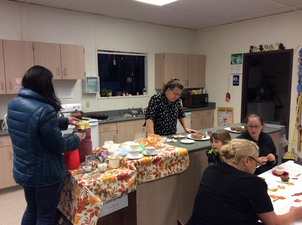 tea and muffins event
