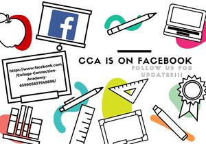 CCA facebook link and flier.