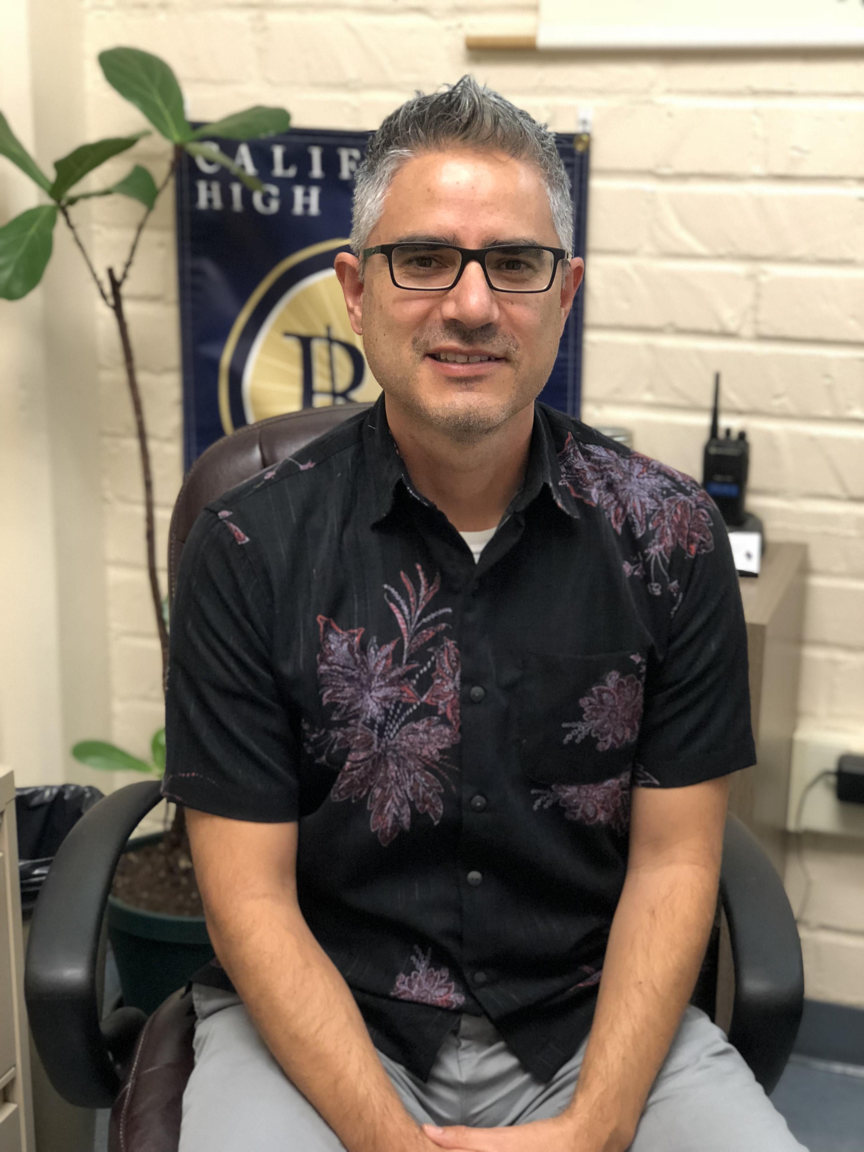 Humberto Solorio, Counselor