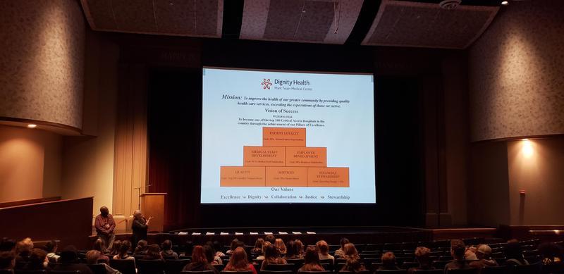 Medical Career talk at Bret Harte high school