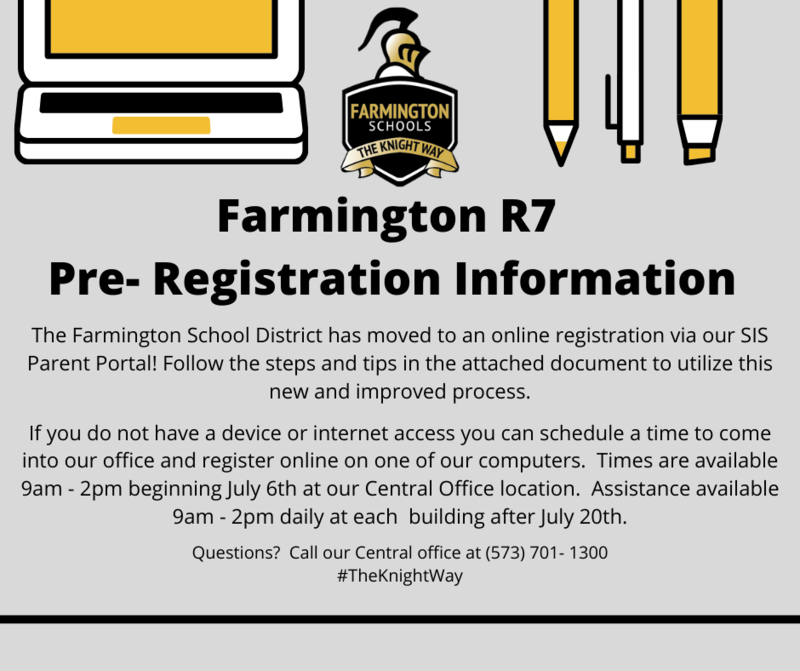 FSD online pre-registration