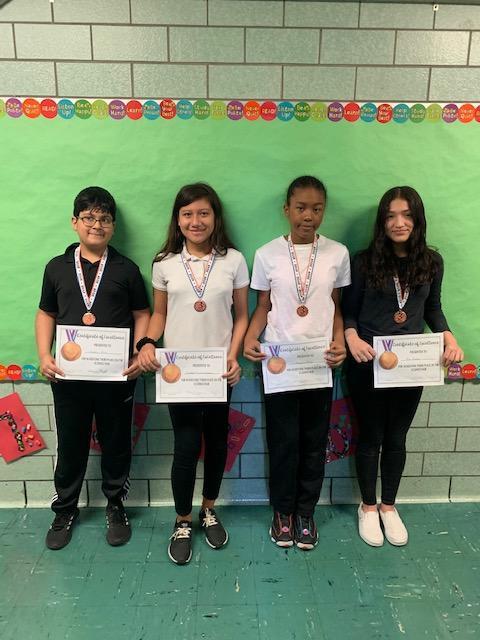 3rd Place Winners - Grades 5-8