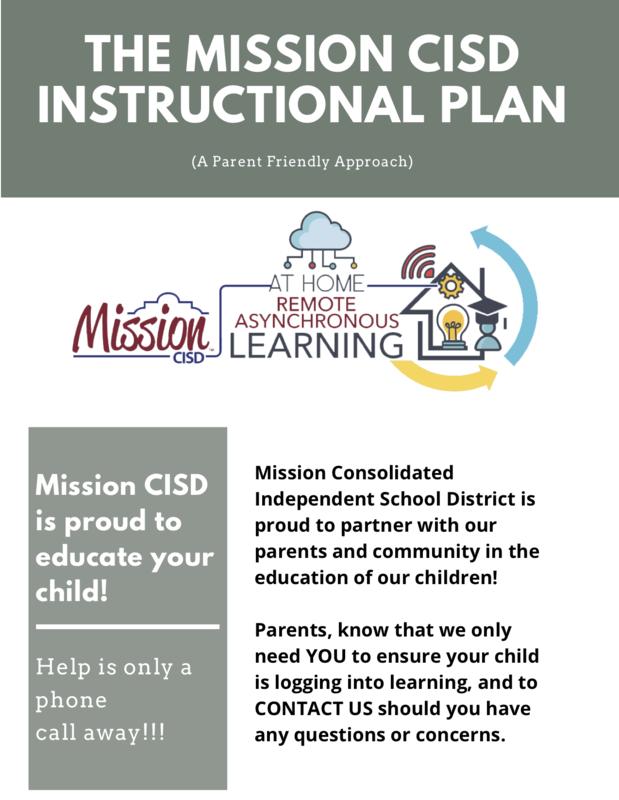 Mission CISD Flexible Instructional Plan Featured Photo