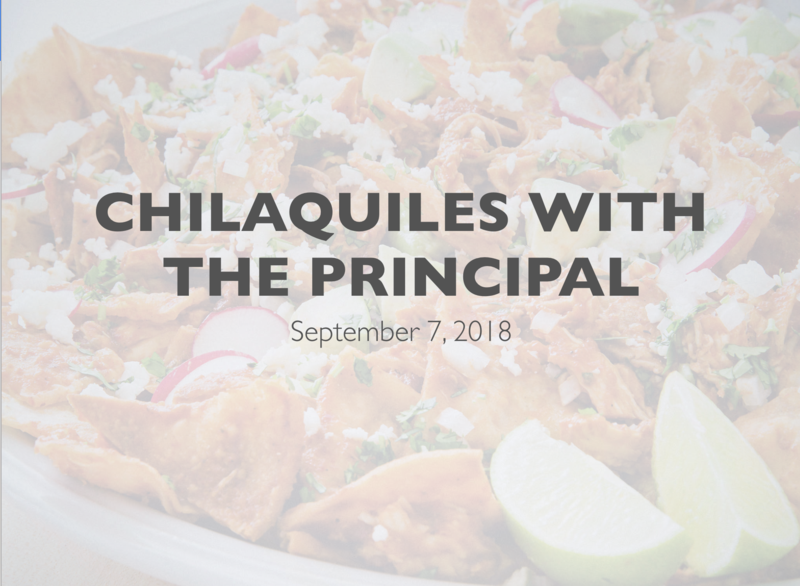 Chilaquiles with the Principal Featured Photo