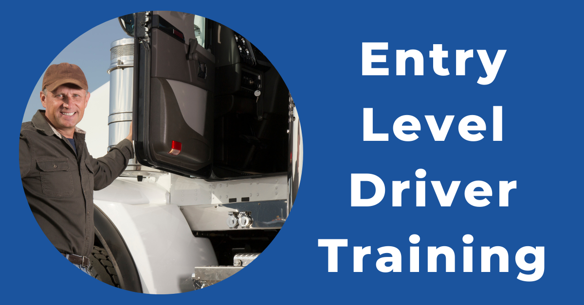 CDL truck driver entry level driver training