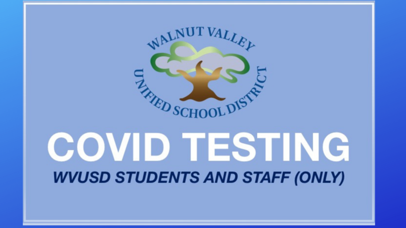COVID Testing for WVUSD Students and Staff Featured Photo