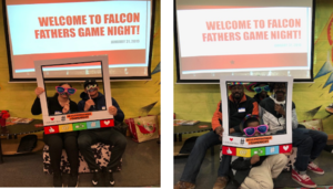 The Falcons' Lounge Hosts Game night.