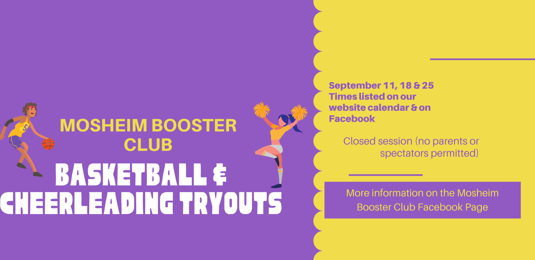 Booster Club Tryouts