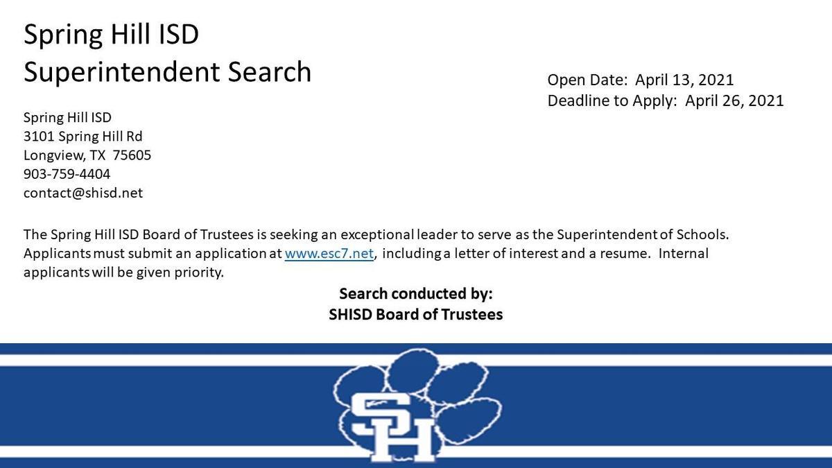 Superintendent Vacancy