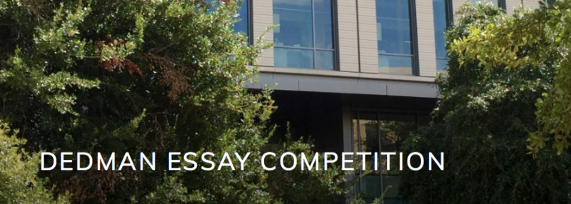 Dedman Essay Competition Featured Photo