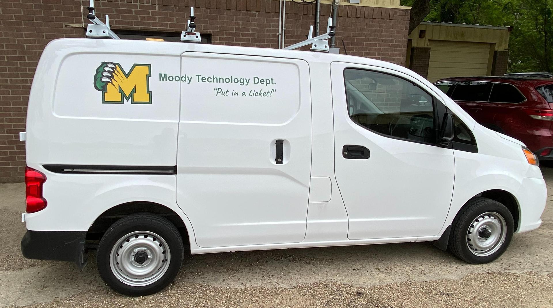 Tech Dept Van