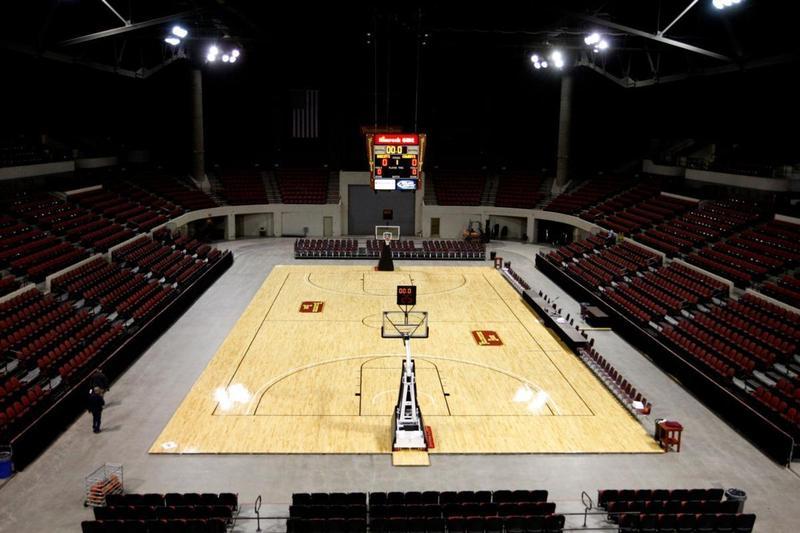 MetraPark Basketball Arena