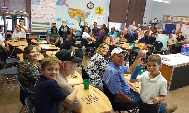 Cankton Elementary hosted its annual Grandparents Day on September 26. The nearly 450 grandparents in attendance played BINGO with their grandchildren and received a treat for attending.