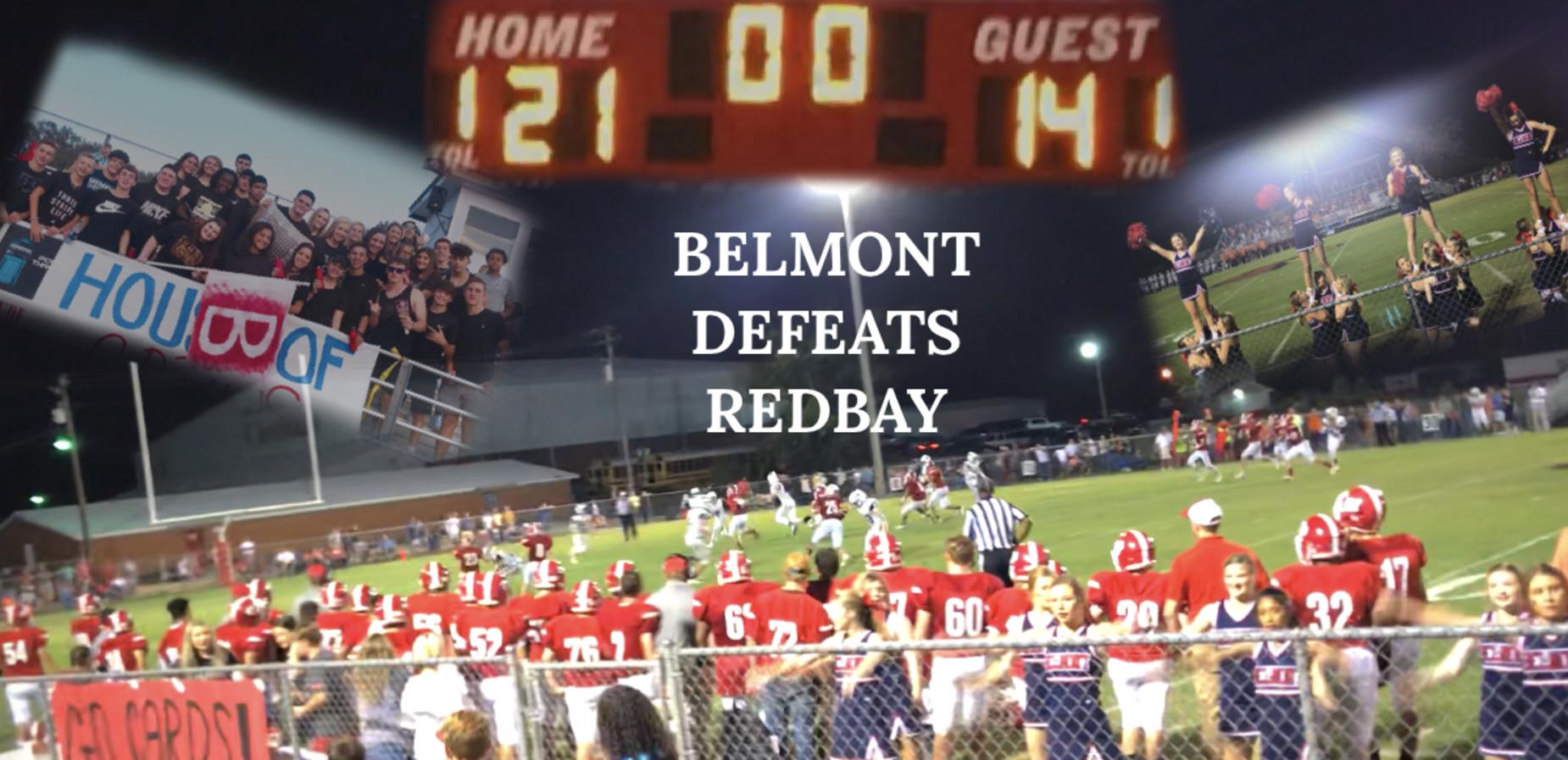 Belmont Football Defeats Redbay